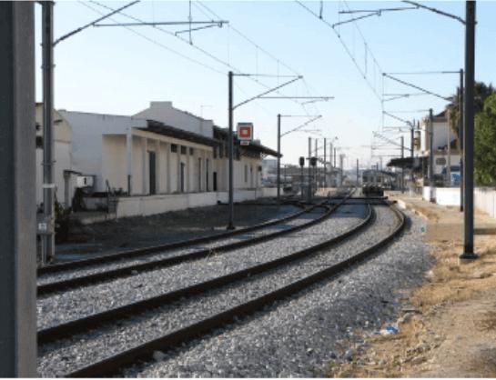 portfolio - Electrificação da Linha do Algarve no Troço Tunes - Lagos