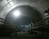 portfolio - Execução dos Toscos entre a Estação Oriente e a Estação Aeroporto, da Linha Vermelha