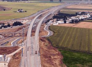 portfolio - Concessão RAVE( Rede Ferroviária de Alta Velocidade ) Poceirão Caia
