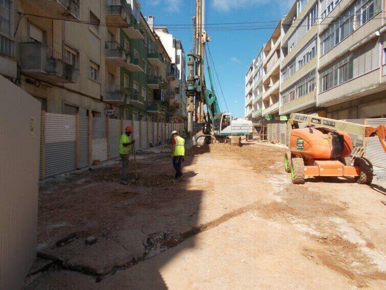 portfolio - IC17 – CRIL Sublanço Buraca - Pontinha – Trabalhos Complementares – Reposição do Caneiro da Damaia