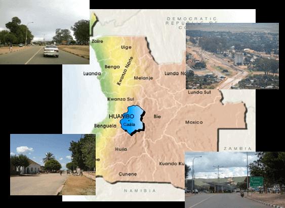 portfolio - PROJECTO DE EXECUÇÃO DE 50KM DE ESTRADA EM TERRA E 4 PEQUENAS PONTES EM ANGOLA –COMUNA DE CAÁLA – PROVINCIA DE HUAMBO