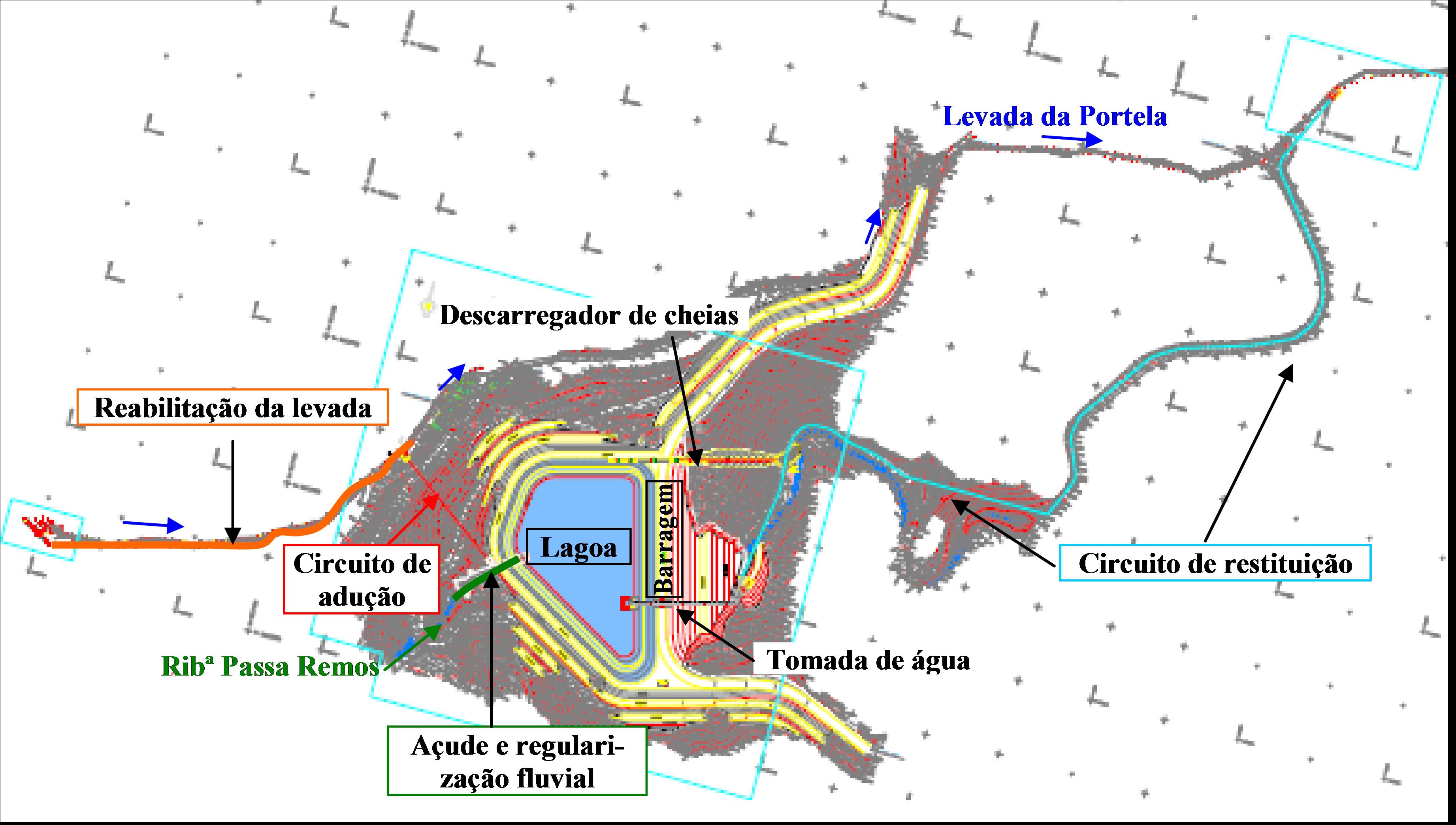 portfolio - Projecto de Execução da Lagoa da Portela